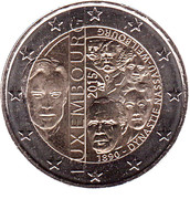 2 Euro - Henri I (House of Nassau-Weilburg) -  obverse