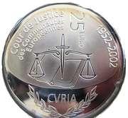 25 Euro - Henri I (European Court System) -  reverse