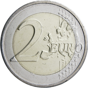 2 Euro - Henri I (Constitution of Luxembourg) -  reverse