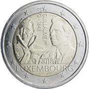 2 Euro - Henri I (William I) -  obverse