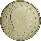 20 Euro Cent - Henri I (2nd map) – obverse