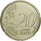20 Euro Cent - Henri I (2nd map) – reverse
