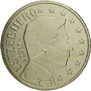 50 Euro Cent - Henri I (2nd map) -  obverse