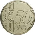 50 Euro Cent - Henri I (2nd map) – reverse