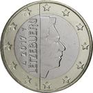 1 Euro - Henri I (2nd map) – obverse