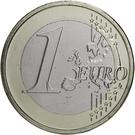 1 Euro - Henri I (2nd map) – reverse