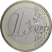 1 Euro - Henri I (2nd map) -  reverse