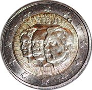 2 Euro - Henri I (Jean de Luxemburg) -  obverse