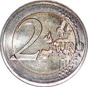 2 Euro - Henri I (Jean de Luxemburg) -  reverse