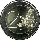 2 Euro - Henri I (Guillaume) – reverse