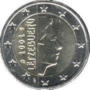 2 Euro - Henri I (1st map) -  obverse