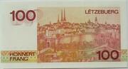 100 Francs – reverse