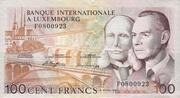 100 Francs/Frang Type 1981 – obverse