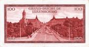 100 Francs/Frang Type 1970 – reverse