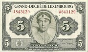 5 Francs 1944-1953 – obverse