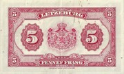5 Francs 1944-1953 – reverse