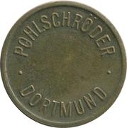 Safe deposit token - Caisse Rurale (Wiltz) – reverse
