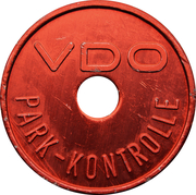 Parking Token - VDO (Bergem) – obverse