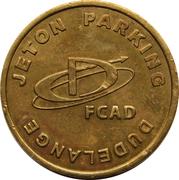 Parking Token - FCSD (Dudelange) – reverse