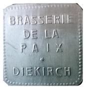 Token - Brasserie de la Paix (Diekirch) – obverse