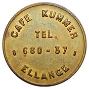 Token - Café Kummer-Mersch (Ellange) – obverse