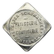 8 Francs - Patisserie Ernster-Schumacher (Echternach) – obverse