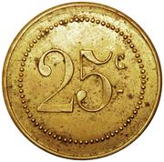 25 Centimes - Volksküche (Luxembourg) – reverse