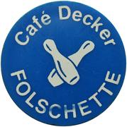 Token - Café Decker (Folschette) – obverse