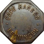 Token - Café Hansen (Lenningen) – obverse