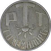 Telephone Token - PTT Luxembourg – reverse
