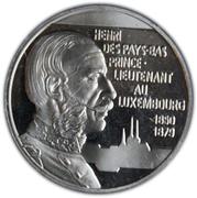 5 Euro - Jean I (Henri, Prince-Lieutenant of Luxembourg) -  reverse