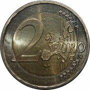 2 Euro - Henri I (1st map) -  reverse