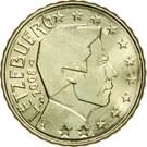 10 Euro Cent - Henri I (2nd map) – obverse