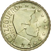 10 Euro Cent - Henri I (2nd map) -  obverse