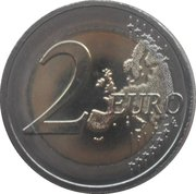 2 Euro - Henri I (Death of William IV) -  reverse