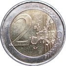 2 Euro - Henri I (Henri and Adolphe) – reverse