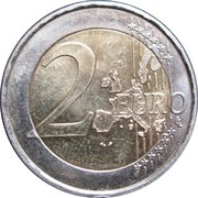 2 Euro - Henri I (Henri and Adolphe) -  reverse
