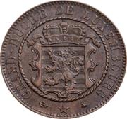10 Centimes - Willem III -  obverse