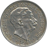 10 Centimes - Adolphe -  obverse