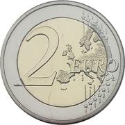 2 Euro - Henri I (National Anthem) -  reverse