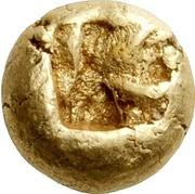 Hemihekte - Alyattes II (Uncertain mint) – reverse