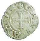 Denier fort ou double denier de l'Archevêché de Lyon – reverse