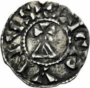 Denier - Conrad I of Burgundy – obverse