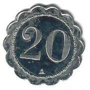 20 Centimes - Comptoir Léon (Lyon) – reverse