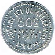 50 Centimes - Autant ici qu'ailleurs (Lyon) – obverse