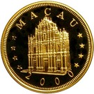 1000 Patacas (Year of the Dragon) – obverse