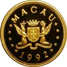 1000 Patacas (Year of the Monkey) – obverse