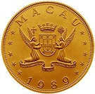 1000 Patacas (Year of the Snake) – obverse
