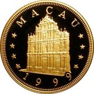 1000 Patacas (Year of the Rabbit) – obverse