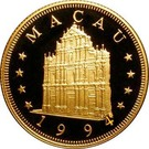 1000 Patacas (Year of the Dog) – obverse